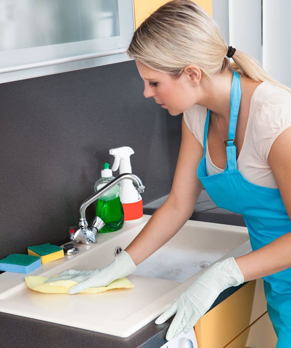 Pay online for cleaning services
